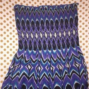 Gianni Bini Tops - Gianni Bini Aztec Tribal Print Strapless
